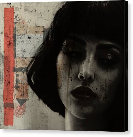 Emotional Canvas Print - Beware Of Darkness  by Paul Lovering