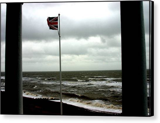 Bexhill 2 Canvas Print by Jez C Self