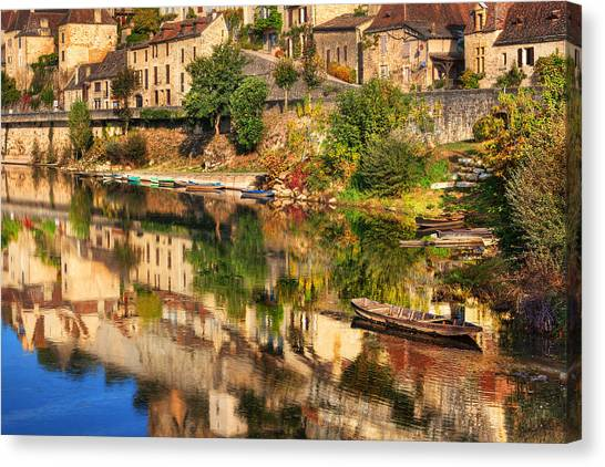 Beynac-dordogne France Canvas Print