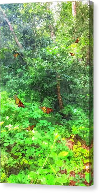 Woodland Canvas Print - Beyond Narnia by Abbie Shores