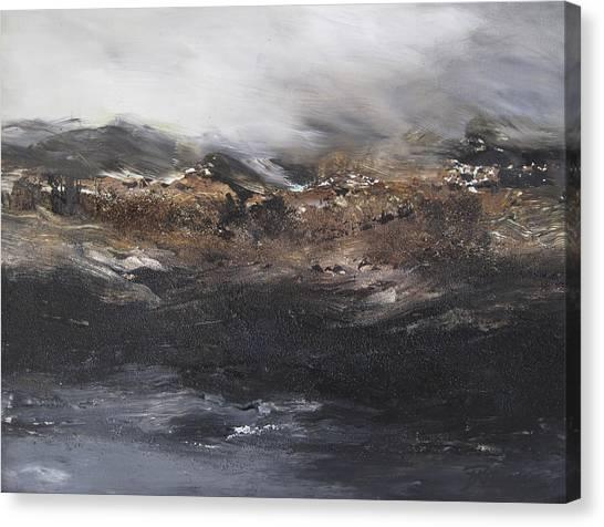 Beyond The Cliffs Canvas Print