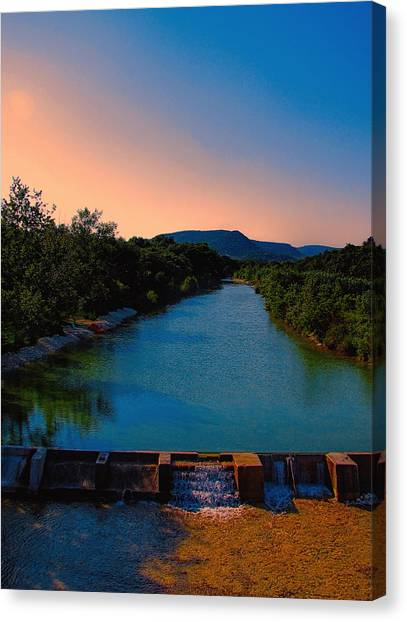Beyond The Golden Hour Canvas Print