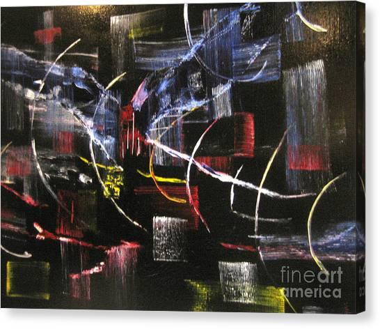 Beyond The Light Canvas Print
