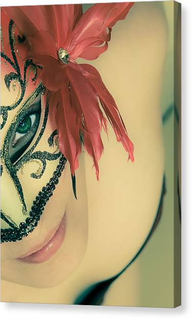 Luminous Body Canvas Print - Beyond The Mask #02 by Loriental Photography