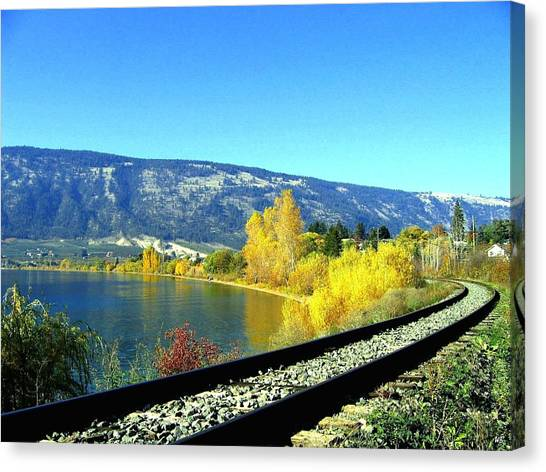 Oyama Canvas Print - Beyond The Next Bend by Will Borden