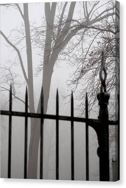 Beyond The Pale Canvas Print