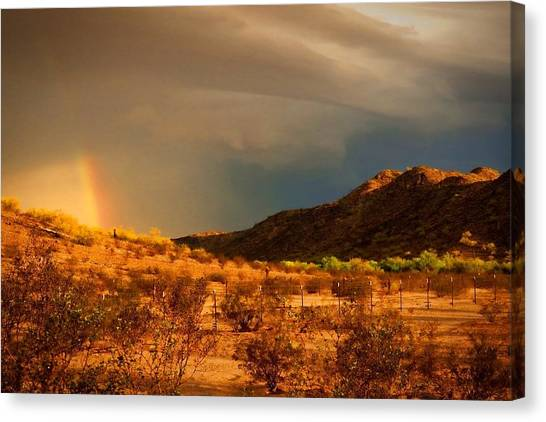 Beyond The Rainbow Canvas Print