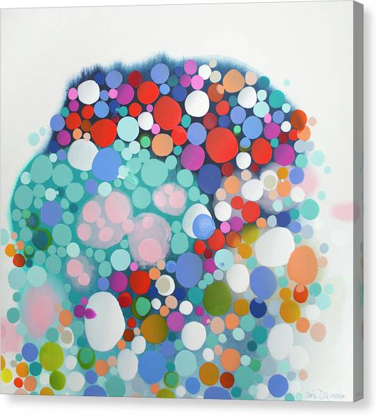 Canvas Print - Beyond The Reef by Claire Desjardins