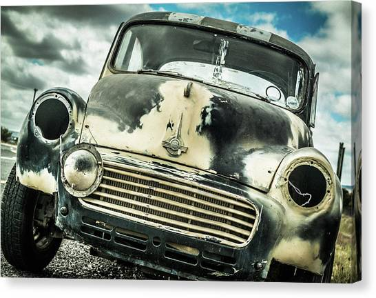 Beyond The Thunder Dome Canvas Print