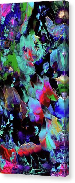 Beyond The Webbed Galaxy Canvas Print