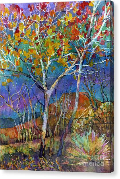 Branch Canvas Print - Beyond The Woods by Hailey E Herrera