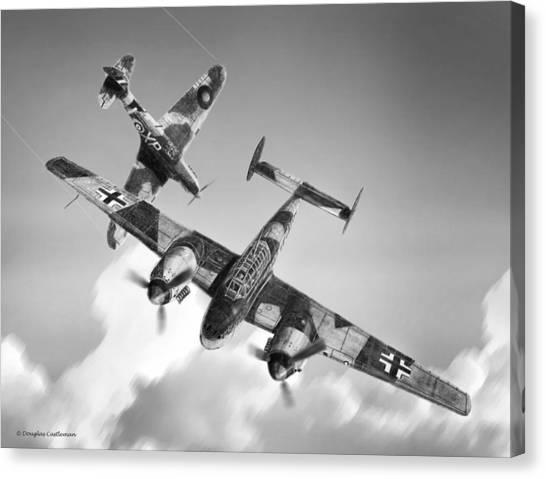 Bf-110c Zerstorer Canvas Print