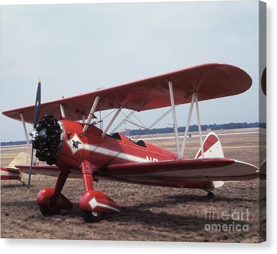 Canvas Print featuring the photograph Bi-wing-1 by Donald Paczynski