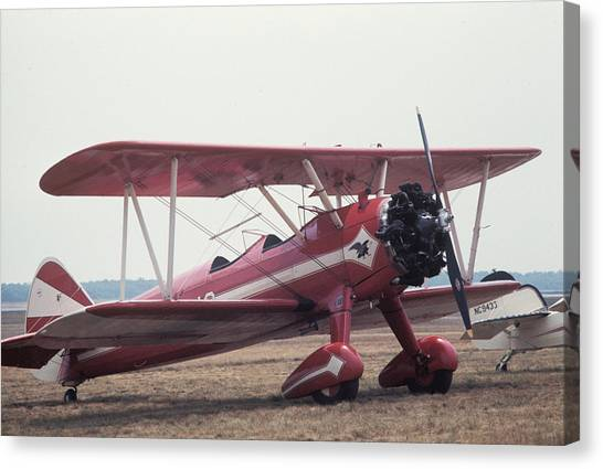 Canvas Print featuring the photograph Bi-wing-9 by Donald Paczynski