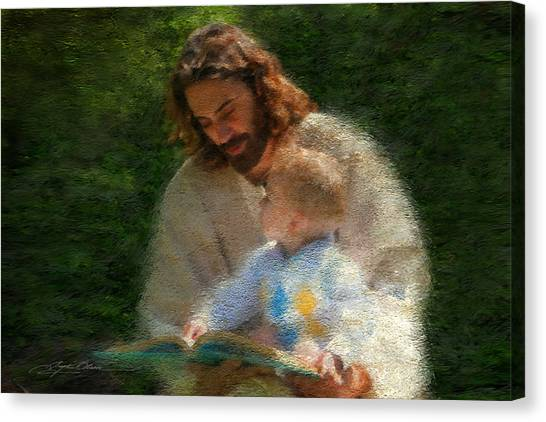 Boy Canvas Print - Bible Stories by Greg Olsen