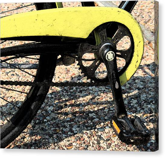 Bicycle 2 Canvas Print by Gary Everson
