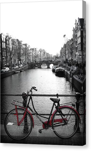 Canvas Print featuring the photograph Bicycle 2 by Scott Hovind