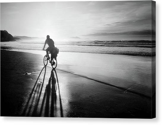 Bicycles Are For The Summer Canvas Print