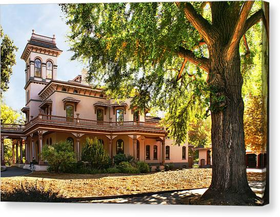 Bidwell Mansion Canvas Print