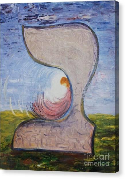 Biet - Meditation In Oil Canvas Print