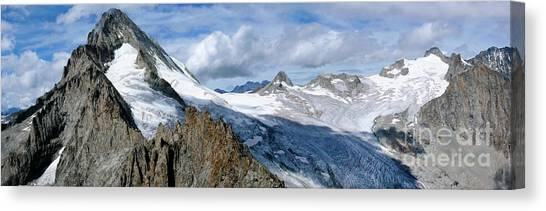 Ice Climbing Canvas Print - Bietschhorn II by DiFigiano Photography
