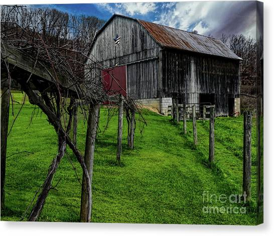 Big Barn Canvas Print by Elijah Knight
