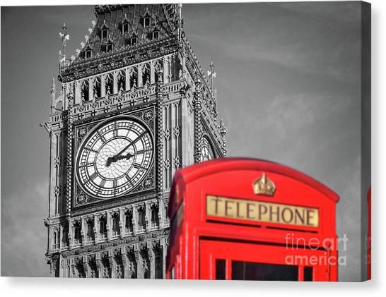 Big Ben Canvas Print - Big Ben by Delphimages Photo Creations