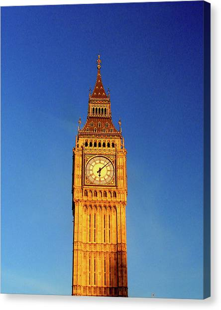 Big Ben Canvas Print - Big Ben, London by Misentropy