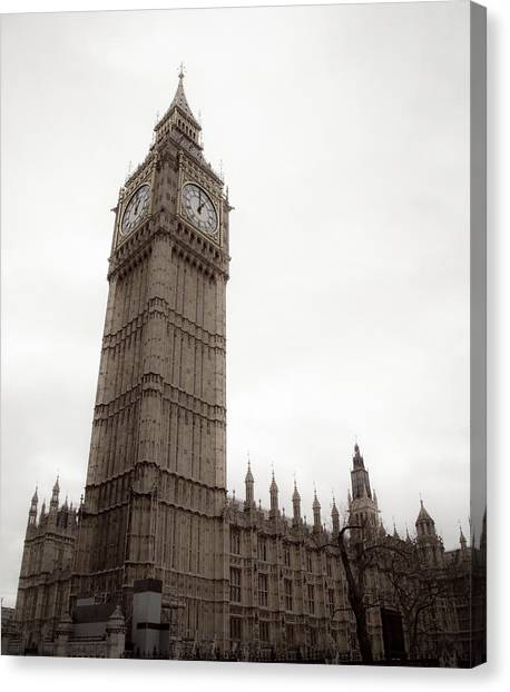 Parliament Canvas Print - Big Ben by Patrick Leeflang