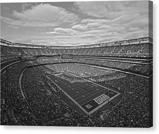 Metropolitan Division Canvas Print - Big Blue by Juergen Roth