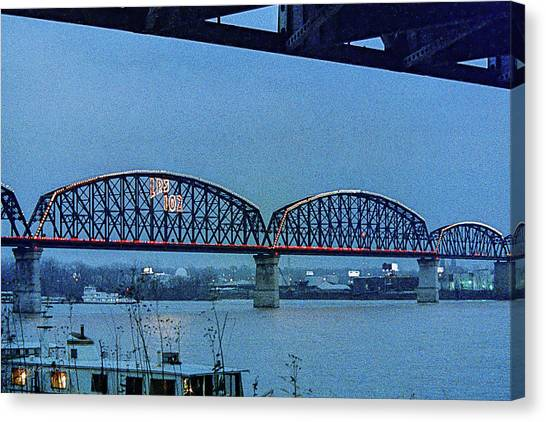 Big Four Bridge Canvas Print