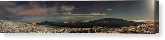 Mauna Loa Canvas Print - Big Island Big View by Sean King