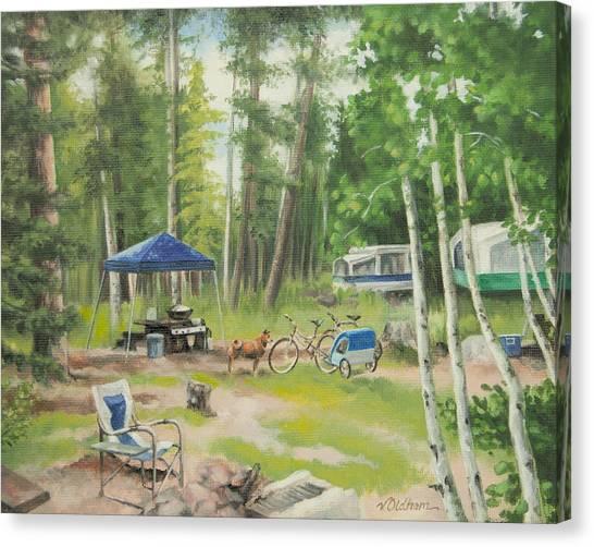 Big Lake 2015 Canvas Print