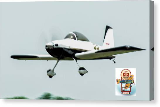 Big Muddy Air Race Number 44 Canvas Print