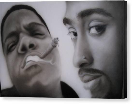 Big N' Pac Canvas Print by Grant Kosh