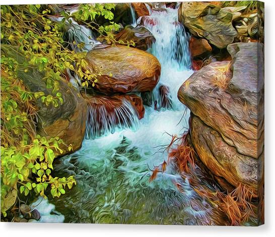 Big Pine Creek Canvas Print