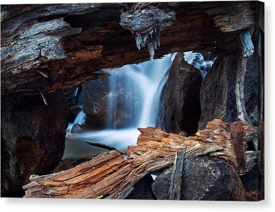 Big Pine Creek Canvas Print by Nolan Nitschke