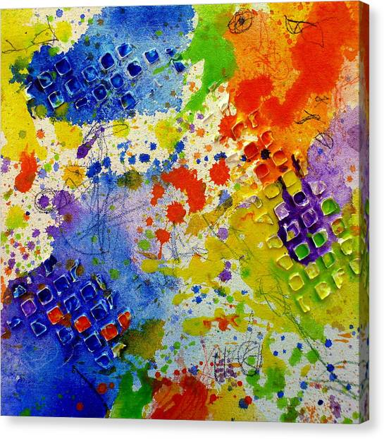Big Risk, Big Life Canvas Print