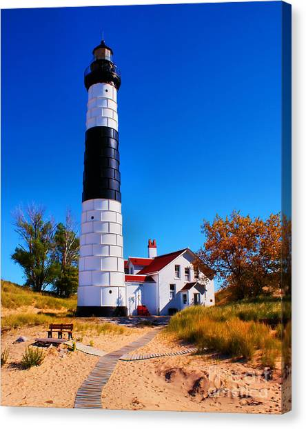 Big Sable Point Lighthouse Canvas Print