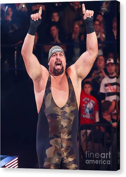 Big Show Canvas Print by Wrestling Photos