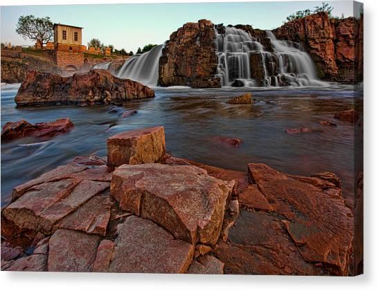 Big Sioux River Falls Canvas Print