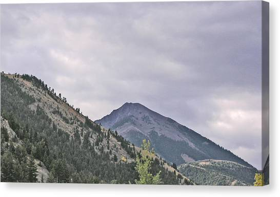 Big Sky Country - Montana Canvas Print by Janis Beauchamp