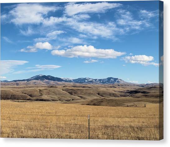 Big Sky Montana Canvas Print by Jessica Yudis