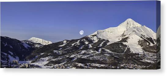 Big Sky Panorama Canvas Print