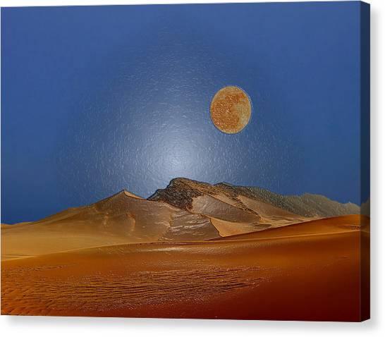Arabian Desert Canvas Print - Big Sky by Scott Mendell