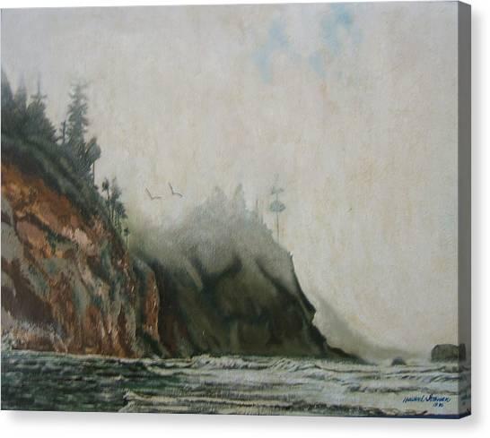 Big Sur Canvas Print by Howard Stroman