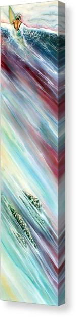 Big Surf Canvas Print by Robert  Nelson