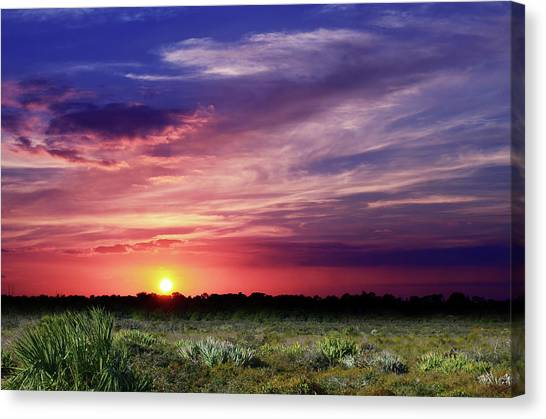 Big Texas Sky Canvas Print