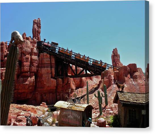 Prince Canvas Print - Big Thunder Mountain Walt Disney World Mp by Thomas Woolworth