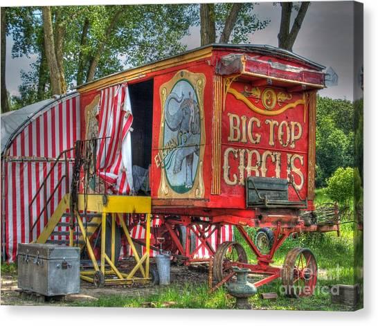 Big Top Circus II Canvas Print